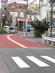 三味線橋通りの舗装改修